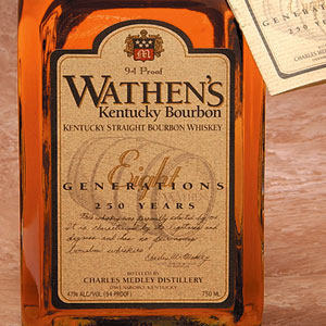 Wathen's Kentucky Bourbon