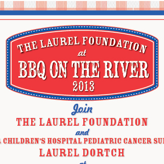 Laurel Foundation Barbecue Flier