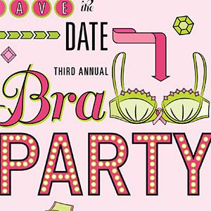 Bra Party Invitation
