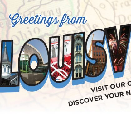 Greetings from Louisville Recruitment Postcard