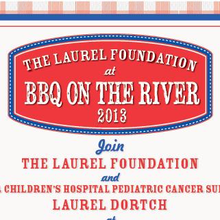 Laurel Foundation Barbecue Flier