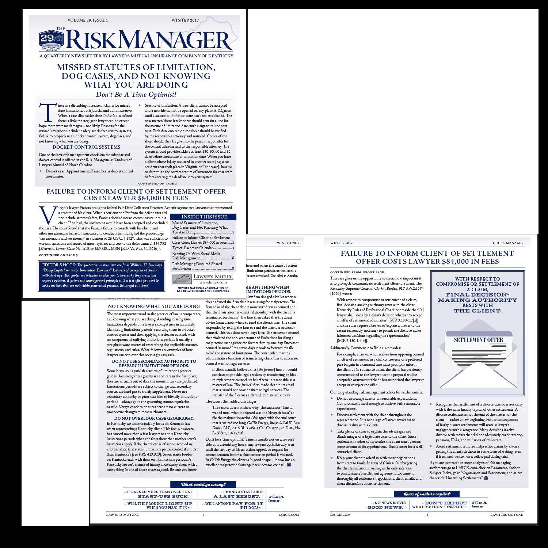 risk-manager-newsletter
